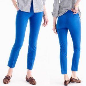 J. Crew Martie Bi-Stretch Slim Crop Pants